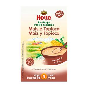 Holle Bio Papa Milho + Tapioca 4 Meses