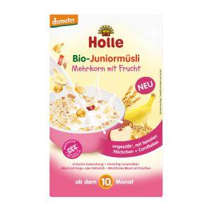 Holle Bio Muesli Cereais Fruta Júnior 10 Meses