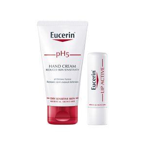 Eucerin Ph5 Creme De Mãos Oferta Baton Ph5 Lip Active