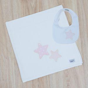 Mime O Seu Bebé Conjunto Fralda + Babete ''Be Star''