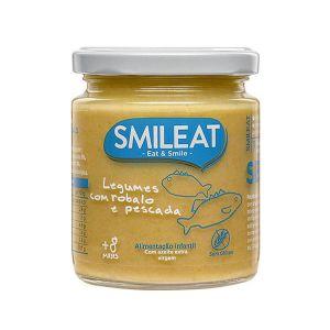 SMILEAT - Boião Robalo e Pescada com Legumes Ecológico