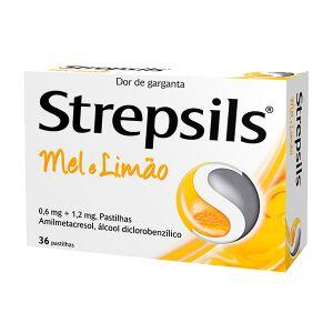 Strepsils Mel Limão Pastilhas