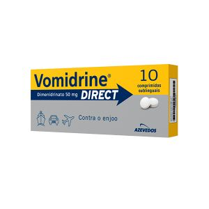 Vomidrine Direct Comprimidos Sublinguais