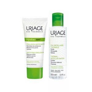Uriage Hyséac Kit Mat + Oferta Água termal micelar