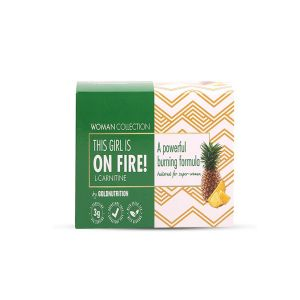 Goldnutrition  - This Girl is on Fire! - Pineapple L-Carnitine