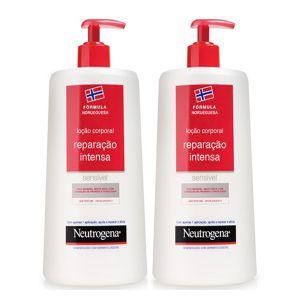Neutrogena Corpo Pack Loção Reparação Intensa Pele Seca e Sensível