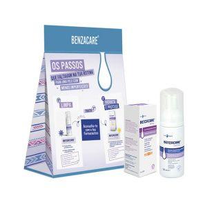 Benzacare Facial Espuma De Limpeza + Borbulhas Creme Antivermelhidão SPF 30