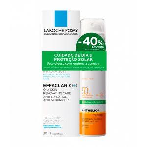 La Roche-Posay Effaclar K+ + 40% Desconto La Roche-Posay Anthelios Bruma FPS 50+