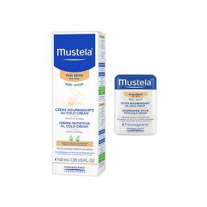 Mustela Bebé Creme Rosto Cold Cream + Oferta Stick Nutritivo Cold Cream