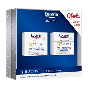 Eucerin Q10 Active Noite + Oferta Q10 Active Dia Pele Normal A Mista