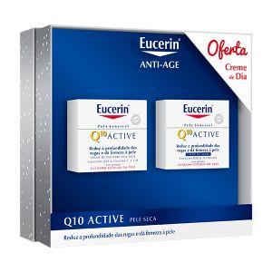 Eucerin Q10 Active Noite + Oferta Q10 Active Dia Pele Seca
