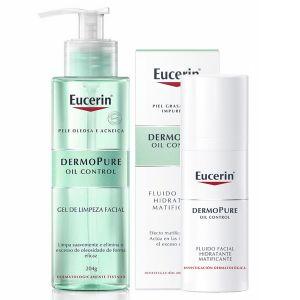 Eucerin Dermopure Oil Control Fluido Matificante + Oferta Gel De Limpeza