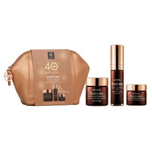 Apivita Queen Bee Promo 40 anos Creme Rico + Oferta Queen Bee Sérum e Queen Bee Creme de Noite