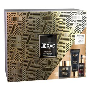 Lierac Premium Soyeuse Coffret Creme Sedoso Oferta Máscara e Sérum