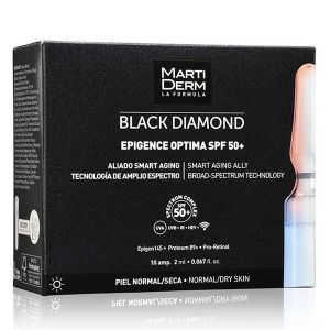 Martiderm Black Diamond Epigence Optima FPS50+ Ampolas