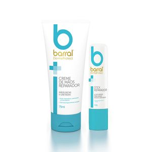 Barral Dermaprotect Creme Mãos + Stick Labial Reparador