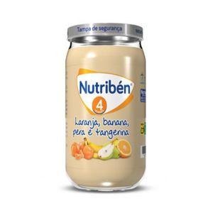 Nutribén Boião Banana, Laranja, Tangerina e Pera