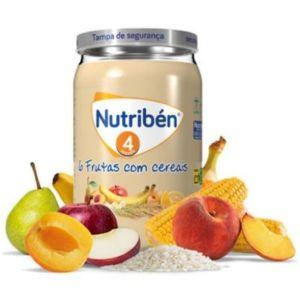 Nutribén Boião 6 Frutas com Cereais