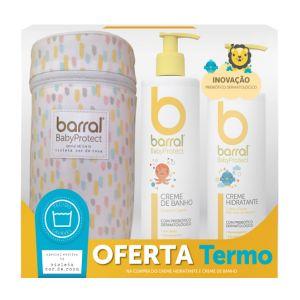Barral Babyprotect Pack Creme Banho e Creme Hidratante com Oferta de Termo