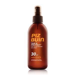 Piz Buin Tan & Protect Pfs30 Óleo Spray Acelerador De Bronzeado