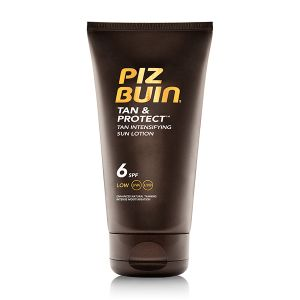 Piz Buin Tan & Protect FPS6 Loção Intensificadora De Bronzeado