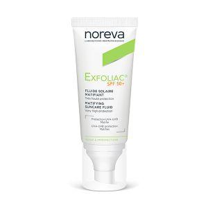 Noreva Exfoliac Fluido Solar FPS 50+