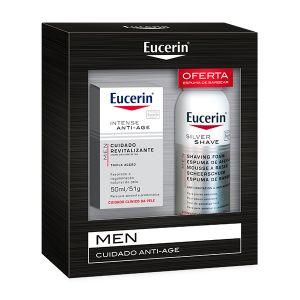 Eucerin Men Antiage + Oferta Espuma De Barbear