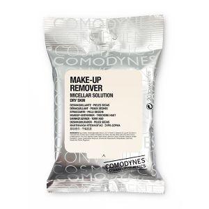 Comodynes Make-Up Remover Micellar Dry Skin Toalhitas