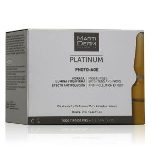MartiDerm Platinum Photo-Age Ampolas