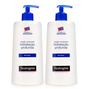 Neutrogena Corpo Pack Loção Hidratação Profunda Pele Seca