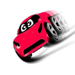 Chicco - Carro Tommy Stunt Vermelho