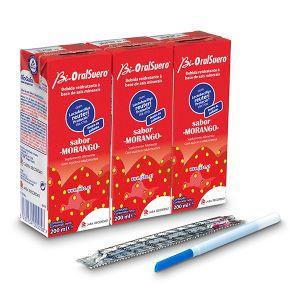 Bi-Oral Suero Solução Oral Morango