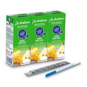 Bi-Oral Suero Solução Oral Frutas