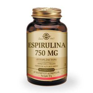 Solgar Spirulina 750Mg Comprimidos