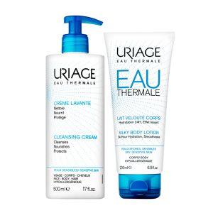Uriage Promo Creme Lavante + Uriage Água Termal Leite Hidratante