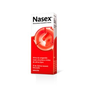 Nasex Adulto Gotas Nasais 15 Ml