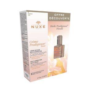 Nuxe Coffret Crème Prodigieuse Boost Peles Normais a Secas Oferta Nuxe Huile Prodigieuse Floral