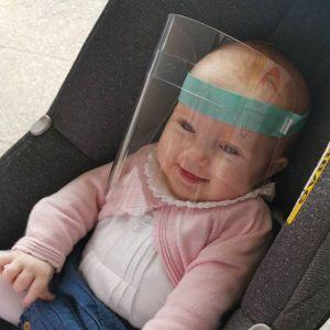 Mime o Seu Bebé Viseira Recém-Nascido
