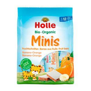 Holle Bio Barras Mini Banana E Laranja 12 Meses