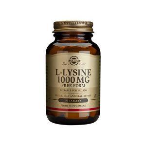 Solgar L-Lisina 1000Mg Comprimidos