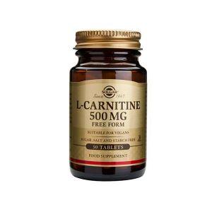 Solgar L-Carnitina 500Mg Comprimidos
