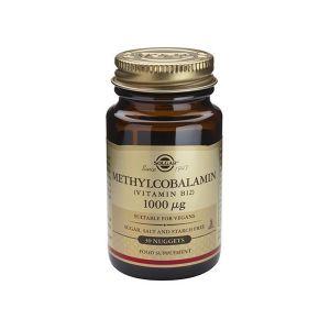 Solgar Vitamina B12 Methylcobalamin 1000ΜG Comprimidos