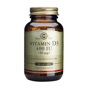 Solgar Vitamina D3 400Iu Cápsulas
