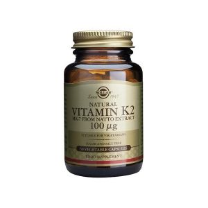 Solgar Vitamina K2 (Natural) 100ΜG Cápsulas