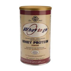 Solgar Whey To Go Proteína Em Pó Chocolate 454G