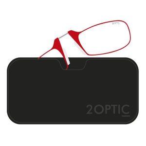 2Optic Óculos Telemóvel Vermelho