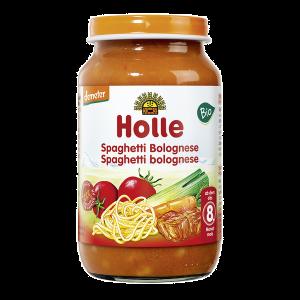 Holle Bio Puré Esparguete Bolonhesa 8M+