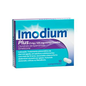 Imodium Plus 2/125 Mg Comprimidos