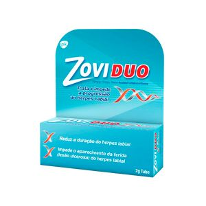 Zovirax Zoviduo Creme Tubo