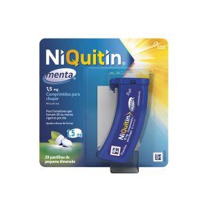 Niquitin Menta 1,5Mg Comprimidos